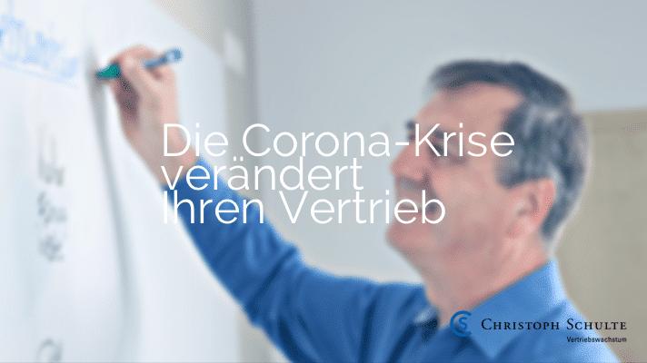 Corona-Krise verändert den Vertrieb