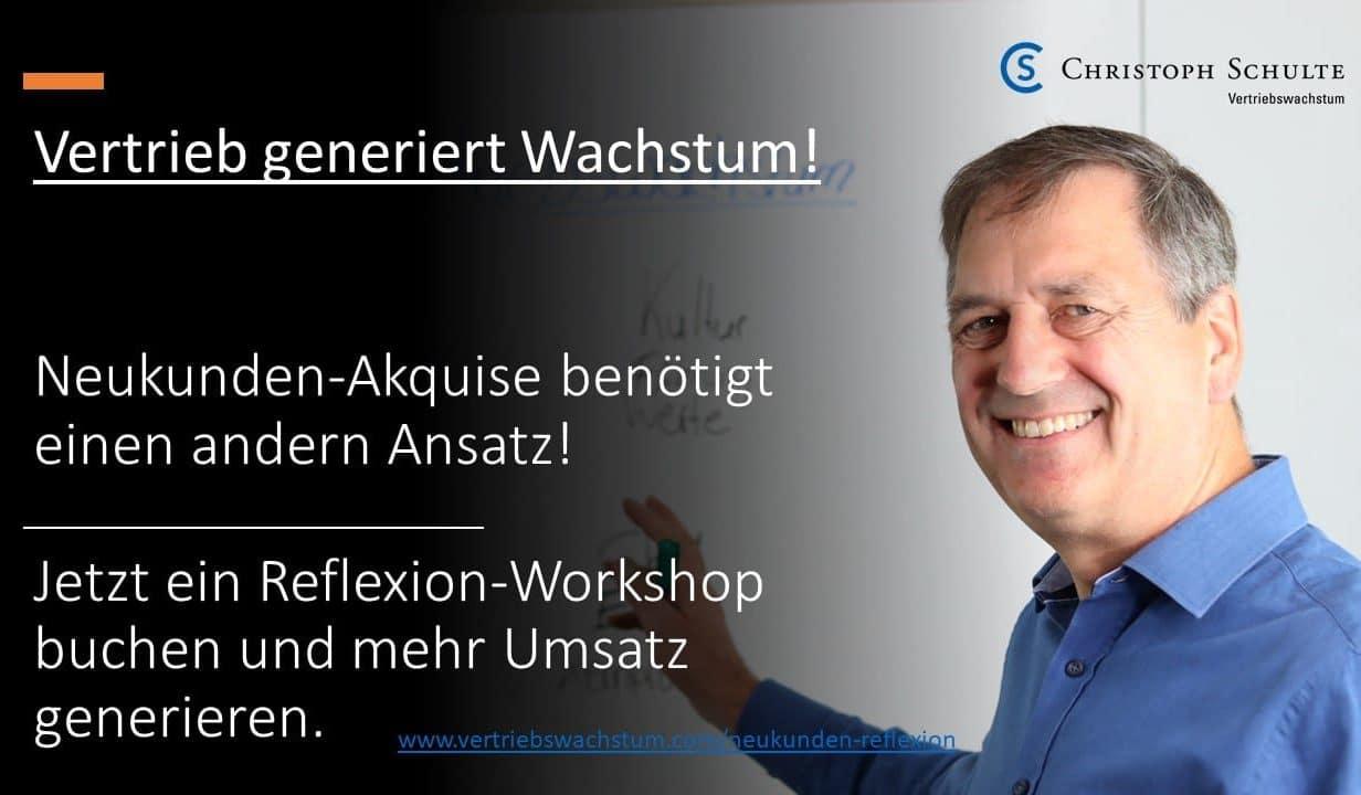 Neukunden-Akquise Workshop