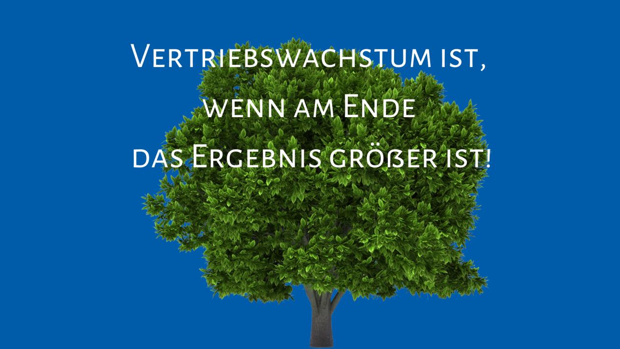 Verriebswachstum-Baumstruktur